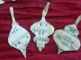 ornaments musical ornaments diy or nts for a