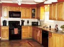 Paint Colors For Kitchen Walls With Oak Cabinets by Kitchen Paint Colors With Oak Cabinets And Black Appliances
