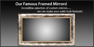 framing bathroom wall mirror shop framed wall mirrors and framed bathroom mirrors in san antonio