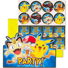 pokemon birthday party supplies party supplies canada open a party