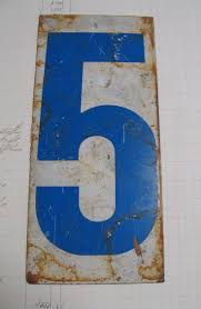 Pewabic Tile House Numbers by 97 Best Number 5 Images On Pinterest Number 5 Lucky Number And