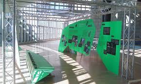 Haus In Haus Haus In Haus Ausstellungsaufbau Im Landtag Nrw M Ai Museum Für