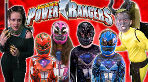 power rangers movie 2017 kids parody youtube