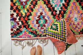 free shipping u003e u003e vintage moroccan boucherouite rug beni ouirain