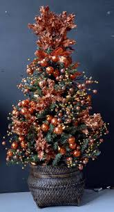 37 best copper christmas trees u0026 copper ornaments images on