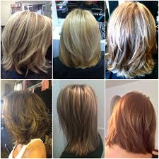 hairstyles with layered in back and longer on sides nice layered hairstyles back view medium length
