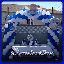 dodger theme baby shower baby clothes for decorations all baby