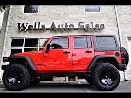 orange jeep lifted custom jeeps for sale near warrenton va lifted jeeps for sale in