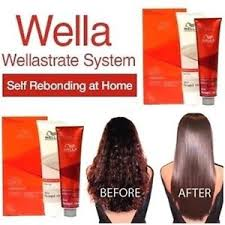 hair rebonding at home wella n r intense smooth kit straightener permanent hair