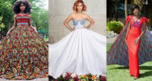 tenue africaine pour mariage inspiration mariage chic avec du pagne au gabon pagnifik
