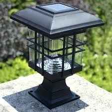 solar post lamp solar powered lamp post head u2013 seedup co