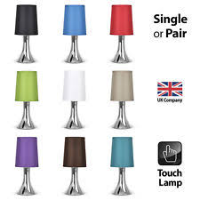 chrome table lamps ebay