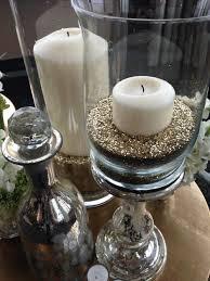 gold glitter as vase filler by katewhelanevent event decor