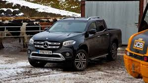 mercedes pick up on test mercedes x class pickup farmers weekly