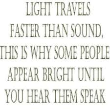 What Travels Faster Light Or Sound Light Travels Faster Than Sound This Is Why Some People Appear
