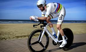 sir bradley wiggins wins final time trial for team sky de panne