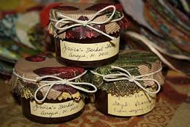 jam wedding favors wedding shower jam favors