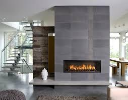 modern gas fireplace logs surface of stone veneer fireplace beige