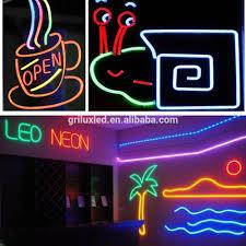 glx n 2835 180 12v led neon flex light led neon lights for