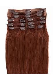 cheap clip in hair extensions auburn color cheap clip in hair extensions 33