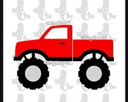 monster truck svg etsy