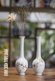 aesthetic flower ceramic small flower receptacle mini hydroponic
