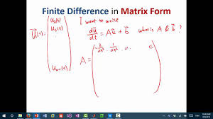 mit numerical methods for pde lecture 1 finite difference