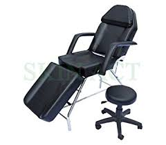 amazon com basic chair with free stool bed