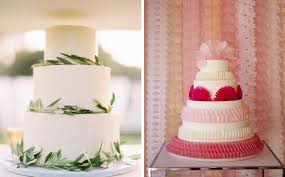 Wedding Cake Simple Bohemian Romance Simple Wedding Cake