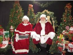 santa and mrs claus giving the true meaning of christmas lsl
