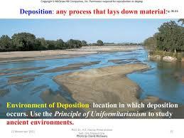 sedimentary ore deposit environments