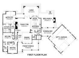 House Plans With Kitchen In Front Craftsman Style House Plan 3 Beds 2 50 Baths 1698 Sq Ft Plan