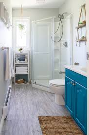 beach themed bathroom final reveal one room challenge spring can get over the transformation this small bathroom into beach themed