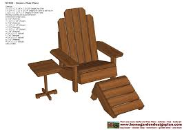 Patio Furniture Plans Woodworking Free by Home Garden Plans Gc101 Garden Chair Plans Out Door Furniture