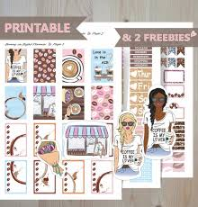 coffee planner stickers printable coffee but first printable stickers coffee date kit 2018 weekly