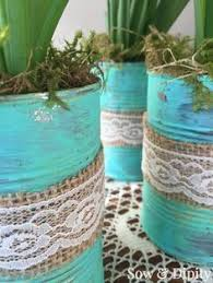 Tin Can Table Decorations 39 Best Tin Cans Images On Pinterest Tin Can Crafts Art News