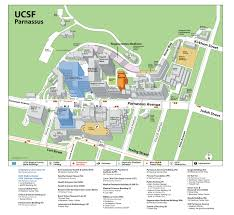 San Diego State University Campus Map by Ucsf Parnassus Map San Francisco Bay Area Pinterest