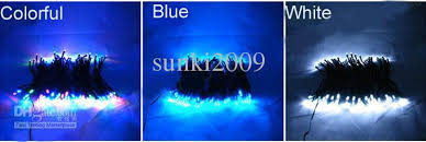 color changing solar string lights 2018 solar power color changing tree stake lights garden decor path