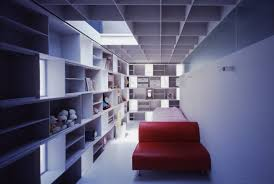 architecture small narrow bedroom design inside the brick cell