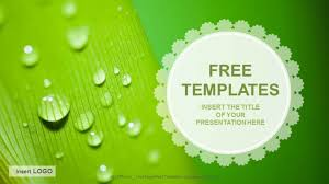 powerpoint design free download 2015 templates for ppt free download droplets nature ppt templates