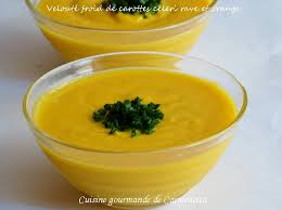 3 cuisine gourmande velouté froid de carottes céleri et orange cuisine