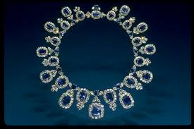 blue diamond necklace gem images Hall sapphire necklace smithsonian institution