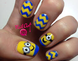 best 25 minion nails ideas on pinterest minion nail art dark