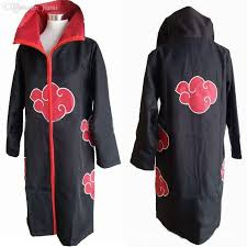 wholesale halloween costumes men anime naruto costume akatsuki