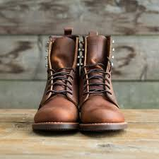 womens red motorcycle boots red wing heritage womens silversmith boot copper rough u0026 tough
