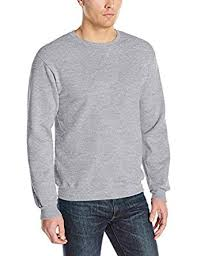 fruit of the loom men u0027s fleece crew sweatshirt at amazon men u0027s