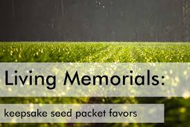 Memorial Service Favors 11 Living Memorial Ideas To Honor A Loved One
