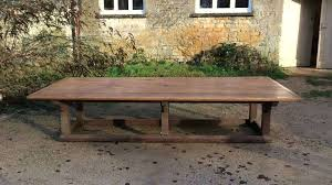 Solid Oak Extending Dining Table And 6 Chairs Dining Table Massive Dining Room Tables Solid Oak Table And 6