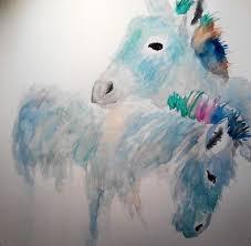 120 best donkey paintings images on pinterest donkeys painting