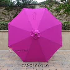 Replacement Patio Umbrella Decoration Surprising Patio Umbrella Replacement With Remarkable